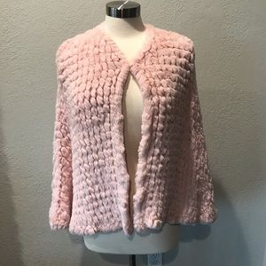 Pink poncho! Perfect for Breast Cancer awareness.